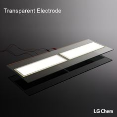 This transparent electrode solution allows power to be supplied to the 320x110mm OLED panel wireless and creates a floating effect. It is great for retail display where temperature sensitivity is an issue.   www.lgoledlight.com  #LGChem #OLED #light #wireless