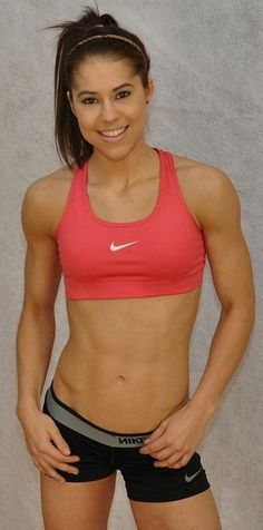 Danielle Yaros. I feel that this is my body type, and I will look like this once I reach my fitness goals.