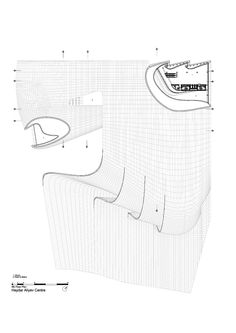 Image 39 of 52 from gallery of Heydar Aliyev Center / Zaha Hadid Architects. Site Plan + Section
