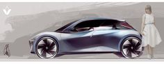 2020 Renault Intuition by Chris Yu-Jen Tsai, via Behance