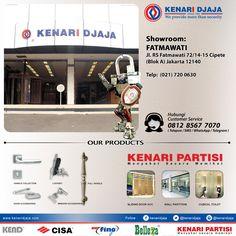Sahabat KENARI DJAJA Yang Berada Di JAKARTA SELATAN, Anda Mencari Perlengkapan Pintu Dan Jendela ? ...  Showroom Kami Ada Di : Jl. RS. Fatmawati 72/14-15, Cipete (Blok A)  Telp : (021) 720 0630, Fax : (021) 724 3741 Jakarta Selatan  Informasi Hub. :  Ibu Tika  0812 8567 7070 ( WA / Telpon / SMS )  0819 0506 7171 ( Telpon / SMS )  Email : digitalmarketing@kenaridjaja.co.id  [ K E N A R I D J A J A ]  PELOPOR PERLENGKAPAN PINTU DAN JENDELA SEJAK TAHUN 1965  SHOWROOM :  ..