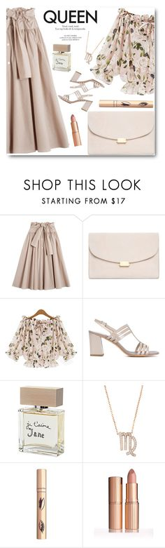 """Queen"" by rasa-j ❤ liked on Polyvore featuring Maryam Nassir Zadeh, Mansur Gavriel, Bella Freud and Latelita"