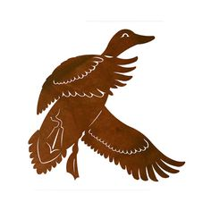 Duck Laser Cut Wall Art Mural by CabinExclusive on Etsy