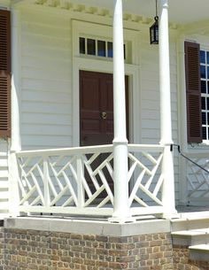 Chinese Chippendale Railing 2 Designs House Garage