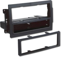 Metra - Installation Kit for Select 2007 - 2008 Chrysler, Dodge and Jeep Vehicles - Black, 99-6511