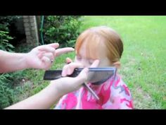 how to trim bangs - Sadie wants bangs.I've resisted for 6 years, but we're going to take the plunge. Toddler Bangs, Toddler Haircuts, Baby Bangs, Haircuts With Bangs, How To Cut Fringe, How To Cut Bangs, Little Girl Bangs, Little Girls, Trim Bangs