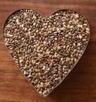 Chia Seeds: The highest source of Omega-3's in nature. 1 tbsp has 5g protein and 5g of fiber. Who knew chia pets were actually useful?! But seriously, these have so much omega-3's that if you overdose on chia seeds they have the blood thinning effects of Warfarin... be careful! 1-3 tbsp are recommended per day.