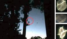 THESE bizarre shapes were caught on camera by a man when he started filming the planet Venus over New York.