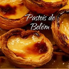 Baking Recipes, Dessert Recipes, Egg Tart, Individual Desserts, Portuguese Recipes, How To Eat Paleo, Easy Cooking, Yummy Cakes, Food Videos