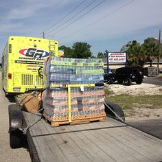 GenRight RV towing RockStar Energy drink out to Jeep Beach.