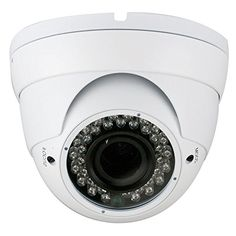 Special Offers - GW Security GW104MW 900TVL 36 IR LEDs Vari-Focal 2.8-12mm Manual Zoom Lens Dome Vandalproof CCTV Outdoor Indoor Security Camera (White) - In stock & Free Shipping. You can save more money! Check It (April 01 2016 at 09:23PM) >> http://bestmotionsensor.net/gw-security-gw104mw-900tvl-36-ir-leds-vari-focal-2-8-12mm-manual-zoom-lens-dome-vandalproof-cctv-outdoor-indoor-security-camera-white/