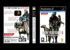 I wanted to share this PS2-inspired MGS5 cover I made some months before the release of the game in 2015 #MetalGearSolid #mgs #MGSV #MetalGear #Konami #cosplay #PS4 #game #MGSVTPP