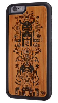 Talisman de l'éclipse - #Bamboo & #Paper #Case for #iPhone 6 & 6 Plus - Twig Case Co.