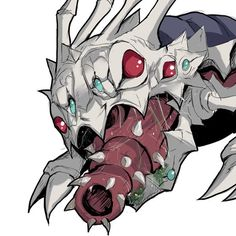 """""""Want meat!!!"""" - Kog'Maw from League of Legends"""