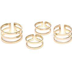 Double Slit Ring Set