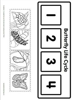 Life Cycle Learning Game from Lakeshore Learning: Children learn all about the life cycle of a butterfly! by dana Life Cycle Learning Game from Lakeshore Learning: Children learn all about the life cycle of a butterfly! by dana Kindergarten Science, Science Classroom, Science Activities, Sequencing Activities, Butterfly Life Cycle, Stages Of A Butterfly, Lakeshore Learning, Worksheets For Kids, Science Worksheets