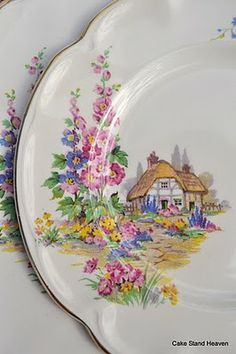 """Sweet """"Cottage"""" ware   ~   Johnson Brothers Homestead"""