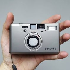 The Contax T3 is an incredibly clean looking camera. It has quite a minimalist…