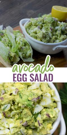 Apr 2020 - The perfect keto egg salad! Packed with flavor AND healthy fats and protein. This recipe is quick, easy, and a big hit with my family! Keto Egg Salad, Healthy Egg Salad, Easy Egg Salad, Keto Avocado, Avocado Egg Salad, Healthy Fats, Avocado Chicken Salad, Potato Salad, Salad Recipes Video