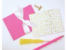 shiny heartfetti - marshmallow + pink http://fig2design.com/shop/item/178