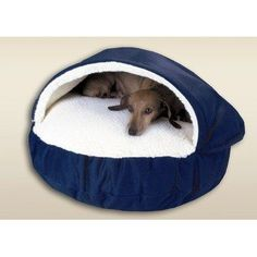 #Cozy #Cave #Pet #Bed in #Poly #Cotton Your choice of available size options Washable poly-cotton cover #Cozy sherpa-lined pocket design https://travel.boutiquecloset.com/product/cozy-cave-pet-bed-in-poly-cotton/