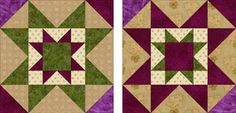 Flip-flop Colors in Quilt Blocks to Make an Eight Hands Around Quilt: Quilt Block Variations and Fabric Requirements