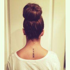 Tattoo Designs with Roman Numerals