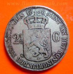 1898 2.5 Guilders Dutch
