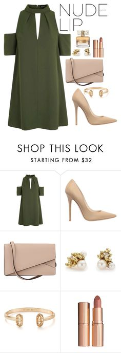 """Untitled #182"" by marr-neubauerova on Polyvore featuring beauty, Topshop, Jimmy Choo, Valextra, Ruth Tomlinson, Kendra Scott, Charlotte Tilbury and Givenchy"