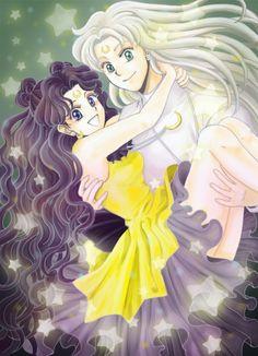 Princess Kaguya / Human Luna | Guardian Cats / Artemis, Luna ...