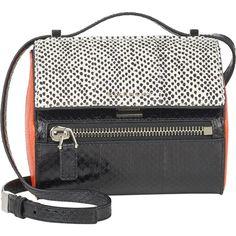 Givenchy Pandora Box Mini Crossbody ($1,239) ❤ liked on Polyvore