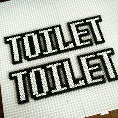 Hama Toilet sign