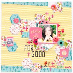 Illustrated Faith | Basics Collection | Layout by Heather Greenwood