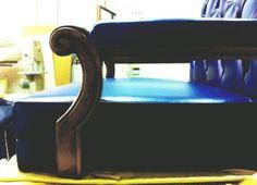 Small capitonnè #armchair. #madebyhand #bertoprogetti