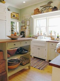 This is one of my favorite Cottage Style David T Smith kitchens that we have done. This on was in Midway Kentucky