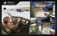 Peterbilt's Walmart Advanced Vehicle Experience - by Peterbilt / Core77 Design Awards //