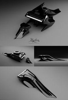 Hydra piano(black)