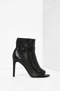 Dolce Vita Harbor Leather Bootie at Nasty Gal
