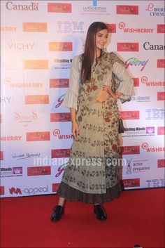 Sonam Kapoor at Kashish Film Festival 2016. #Bollywood #Fashion #Style #Beauty #Hot #Sexy #Saree