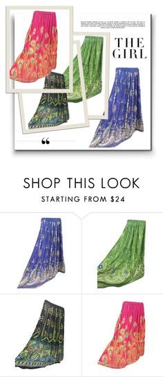 Boho Sequin Festive Skirts by tarini-tarini on Polyvore featuring Kershaw and Whiteley