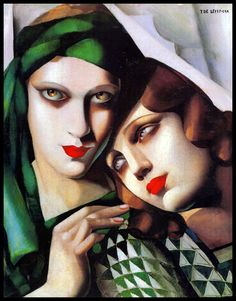febrero Cubismo Tamara Arte 12 Naif Mujerícolas Pintura Lempicka Arte de UqxZ6nd