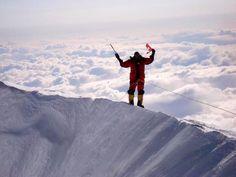 From the peak of Mt McKinley (Denali) in Alaska