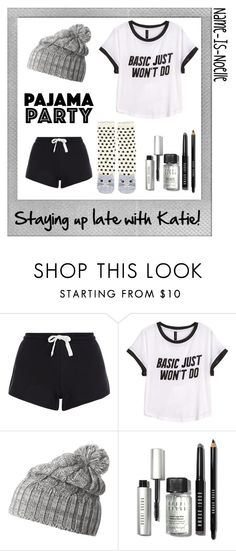 """""""☼Pajama Party☼"""" by name-is-noelle ❤ liked on Polyvore featuring moda, Polaroid, H&M, Helly Hansen, Bobbi Brown Cosmetics ve Accessorize"""