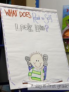 A day in first grade: Ready or not... here they come! Back to school routines and lessons one teacher uses.