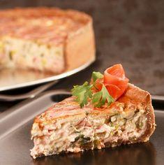 Lazacos-póréhagymás pite Recept képpel - Mindmegette.hu - Receptek Sandwiches, Food, Essen, Meals, Paninis, Yemek, Eten