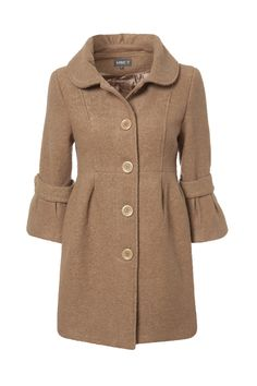 Sad to say but winter is on the way! Ladies stay warm with this wool coat. Brought to you by Shoplet.com - everything for your business.