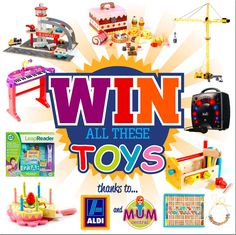 Dream Job Alert: Apply to be an ALDI Toy Tester Today - Mum Central - Real Women, Real Life.