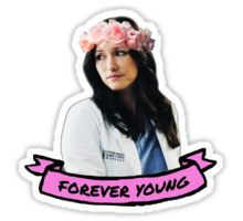 Forever Young Sticker