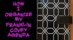 franklin planner vs filofax - YouTube