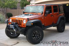 Poison Spyder Hood Louver Panels are available now for JK , Late TJ/LJ , Early TJ , YJ and CJ . The Poison Spyder Hood Louver panel helps keep Jeep Wrangler Rubicon, Orange Jeep Wrangler, Jeep Wrangler Unlimited, Jeep Jk, Jeep Truck, Badass Jeep, Jeep Camping, Black Jeep, Cool Jeeps